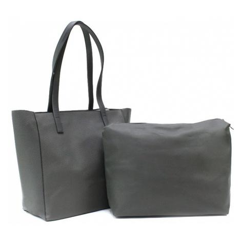 Tmavě šedý dámský kabelkový set 2v1 Meryl Tapple