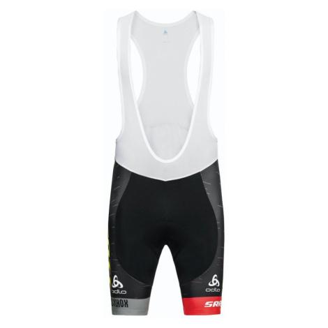 Pánské cyklistické šortky s kšandami Odlo Tights Shorts suspenders Scott sram racing replica