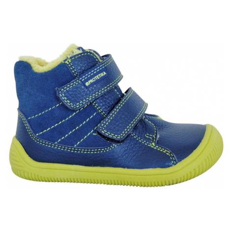 obuv dětská zimní barefoot s PROtex membránou KABI GREEN, Protetika, zelená