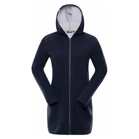 Dámský kabát Alpine Pro MIDIA 2 - tmavě modrá