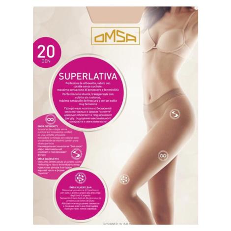 SUPERLetIVA - Bezešvé punčochové kalhoty 20 den - OMSA