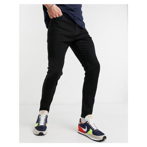 Bershka super skinny fit jeans in black