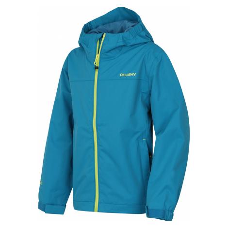 Husky Zunat Kids, modrá Dětská outdoorová bunda