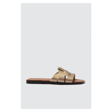 Trendyol Golden Women's Slippers