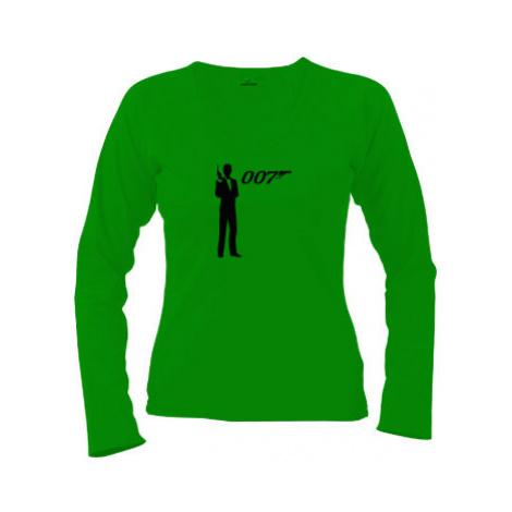 Dámské tričko dlouhý rukáv James Bond