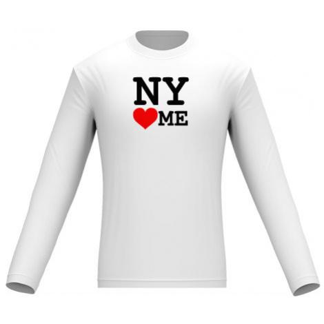 Pánské tričko dlouhý rukáv NY loves me