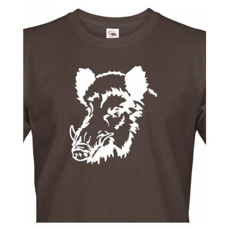 Tričko pro myslivce Prase divoké - ideální dárek BezvaTriko