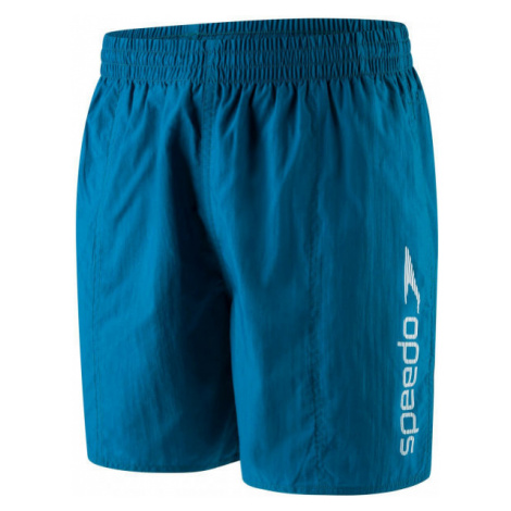 Speedo SCOPE 16 WATERSHORT modrá - Pánské plavecké šortky