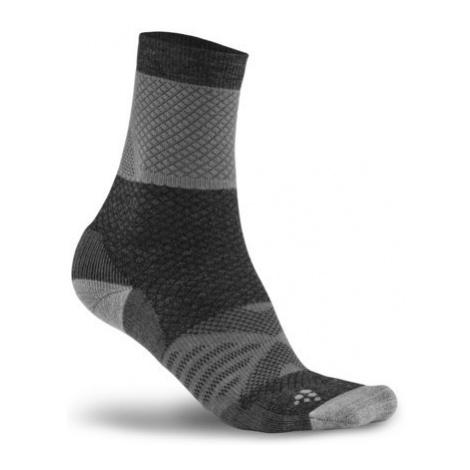 Ponožky CRAFT XC Warm bílá/černá