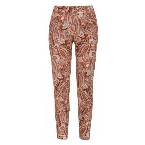 Úpletové kalhoty se vzorem paisley Lulla Cellbes