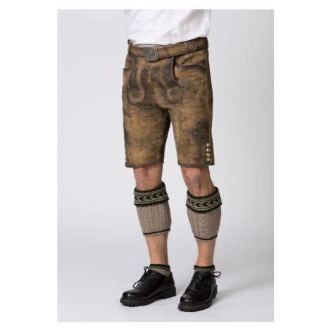 STOCKERPOINT Krojové kalhoty 'Felix' hnědá / světle hnědá