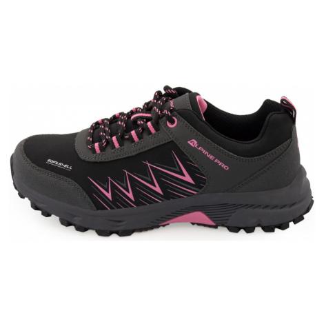 Alpine Pro Avery dámské trekové boty černo růžové