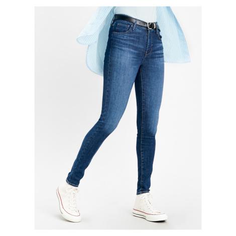 720™ High Rise Super Skinny Jeans Modrá Levi´s