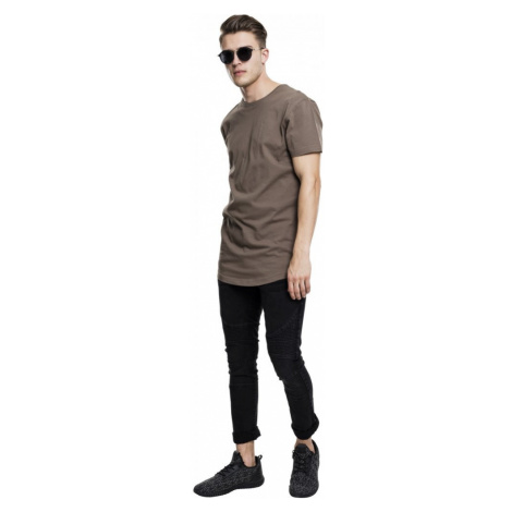 Shaped Long Tee - army green Urban Classics