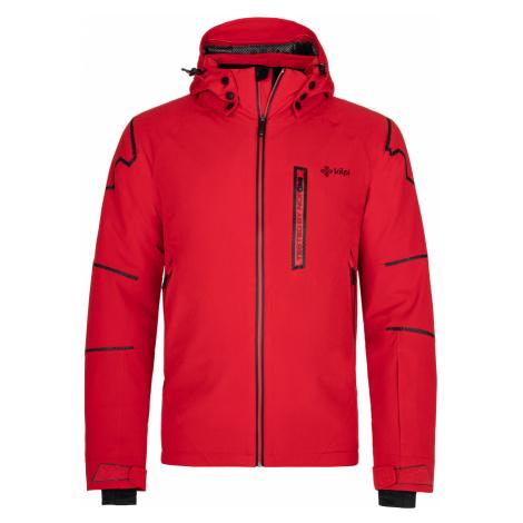 KILPI Pánská lyžařská bunda TURNAU-M NM0018KIRED Červená