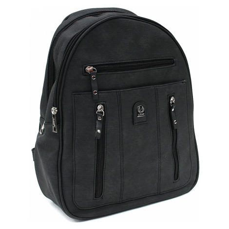 Černý zipový dámský batoh Trina New Berry