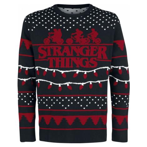 Stranger Things Stranger Xmas Mikina vícebarevný
