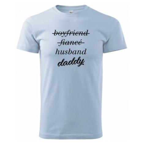 Partnerské triko nastávající rodiče - Heavy new - triko pánské