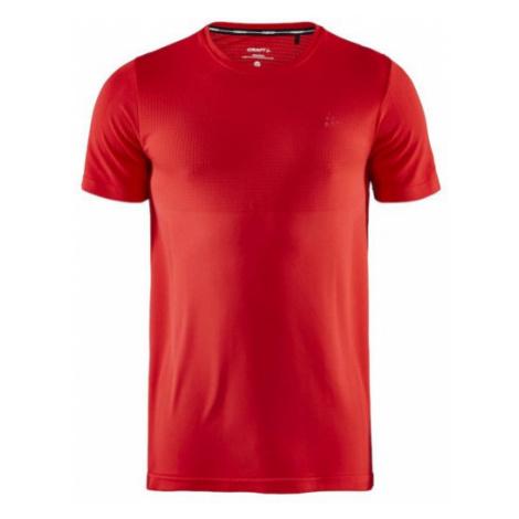 Pánské tričko CRAFT Fuseknit Light SS červená