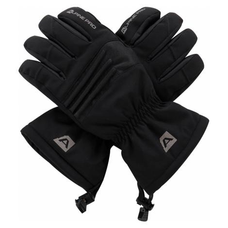 Unisex rukavice Alpine Pro KAROG - černá