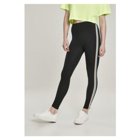 Ladies Multicolor Side Taped Leggings Urban Classics