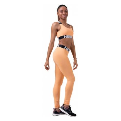 Nebbia Squad Hero Scrunch Butt legíny 528 světle oranžové