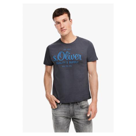 s.Oliver pánské triko s logem 03.899.32.5264/9855
