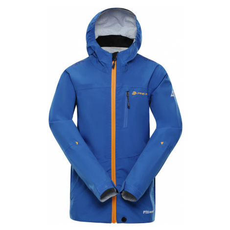 ALPINE PRO SLOCANO 2 Dětská outdoorová bunda KJCN132613 modrá