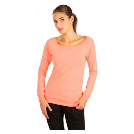 Dámské tričko s dlouhým rukávem Litex 5B290   reflexní oranžová