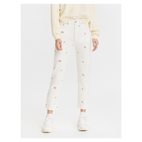 501 Crop Garden Variety Jeans Levi's® Bílá Levi´s