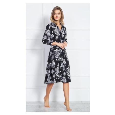 Dámské šaty Martina, XL, černá Vienetta Secret