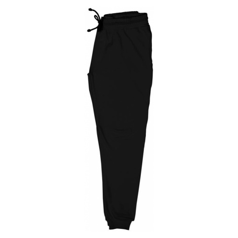Dedicated Jogger Pants Lund Plain Black Black černé 15641