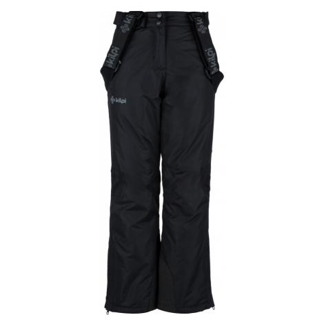 KILPI Dívčí lyžařské kalhoty ELARE-JG JJ0023KIBLK Černá