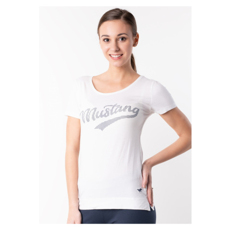 Dámské tričko Mustang 6147210 Bílá