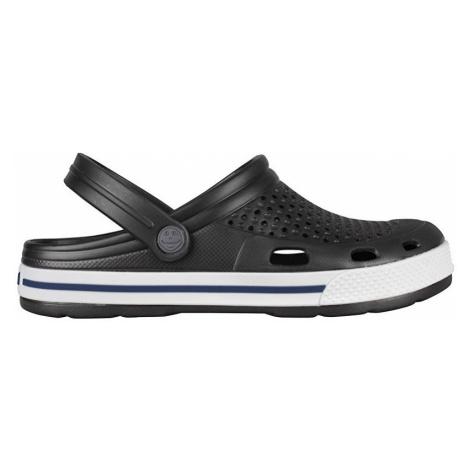 Coqui Pánské pantofle Lindo Antracit/White 6403-100-2432