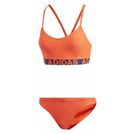 adidas BEACH WOMEN BRANDED BIKINY oranžová - Dámské bikiny