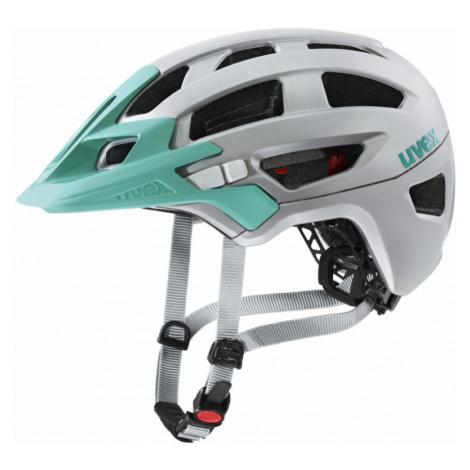 Cyklistická helma Uvex Finale 2.0 silver-mint mat