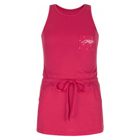 KILPI Dívčí šaty FANTASIA-JG MJ0029KIPNK Růžová