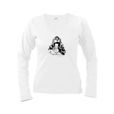Dámské tričko dlouhý rukáv Lana Del Rey