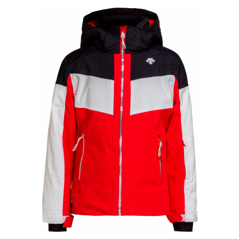 Lyžařská bunda Descente HARLEY červená|multicolor