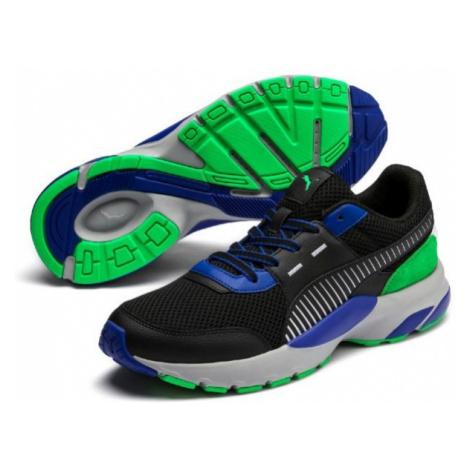 Puma FUTURE RUNNER PREMIUM černá - Pánská volnočasová obuv