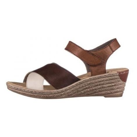 Sandály RIEKER 62450-25