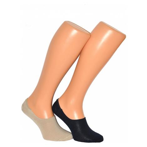 Ponožky Milena Microstopki 0583 bambus