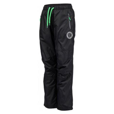 Lewro MILAN černá - Dětské zateplené kalhoty