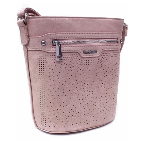 Světle růžová menší crossbody dámská kabelka Fernne Mahel