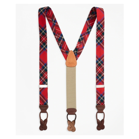 Kšandy Brooks Brothers Royal Stewart Tartan Suspenders