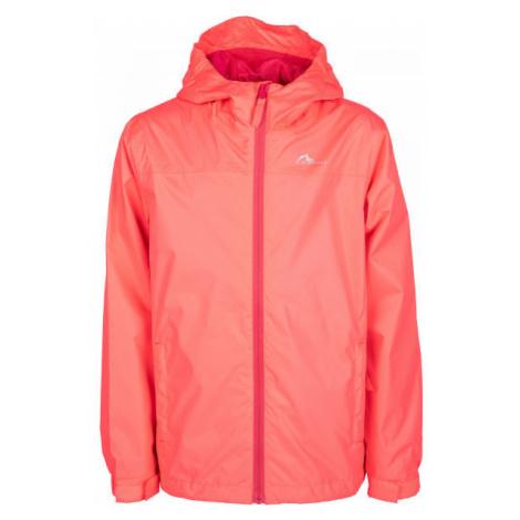 Lewro CHICO oranžová - Dívčí šusťáková bunda