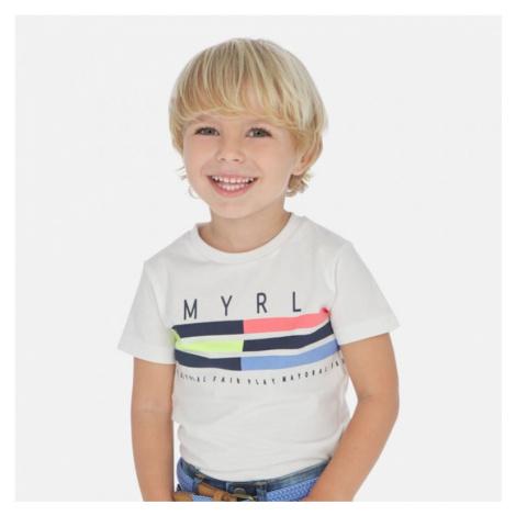 Chlapecké triko MAYORAL 3053 | bílá