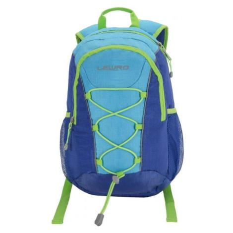 Lewro DINO 12 modrá - Víceúčelový dětský batoh