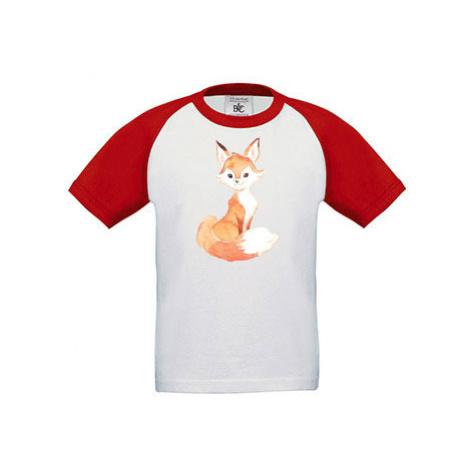 Dětské tričko baseball Lištička